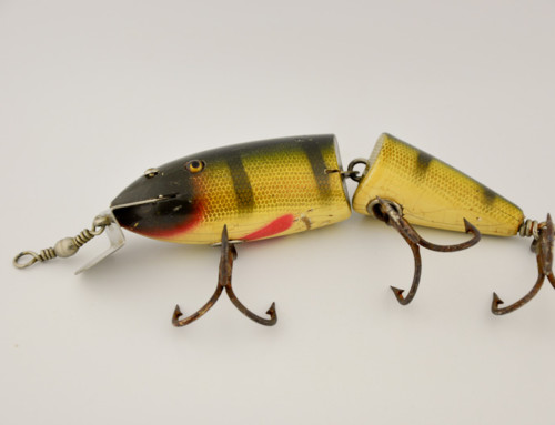 Creek Chub Jointed Husky Musky Lure