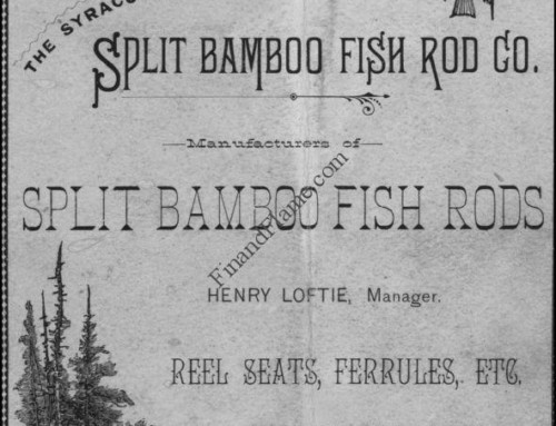 Syracuse Split Bamboo Fish Rod Company