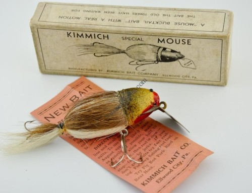 Kimmich Mouse Antique Lure