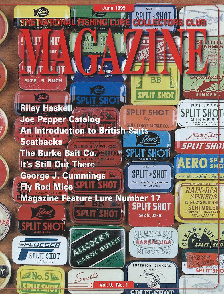 Nflcc magazine article index 1999 fin and flame antique for National fishing association