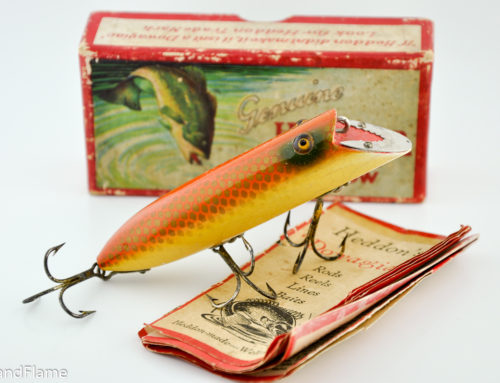 Heddon Basser Antique Lure