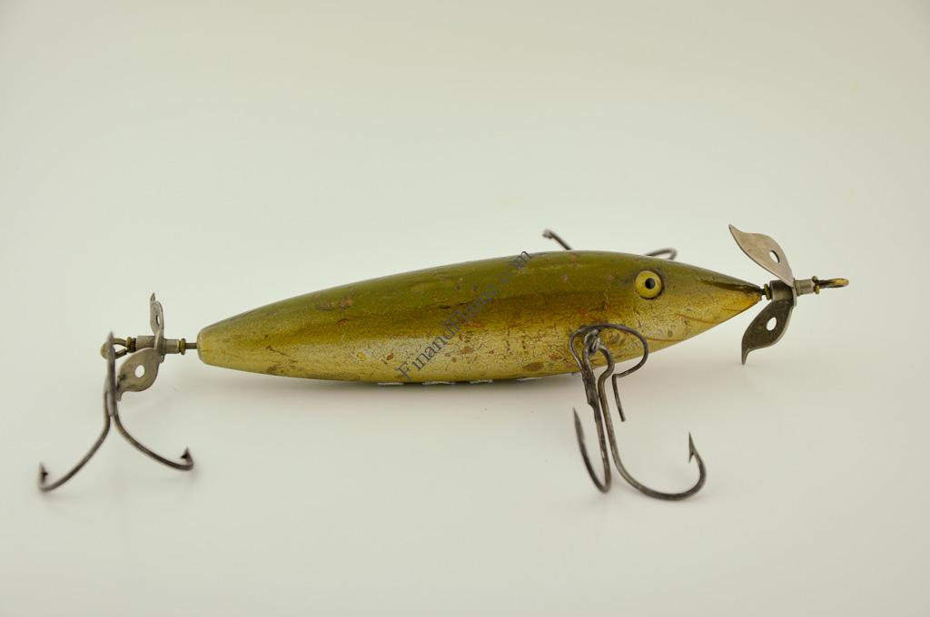 Keeling musky expert minnow lure fin and flame fishing for Musky fishing lures