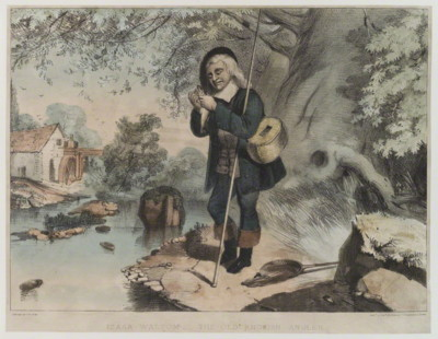 Izaak Walton Colored Print