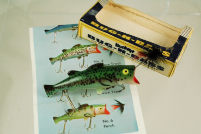 Bug N Bass Antique Lure