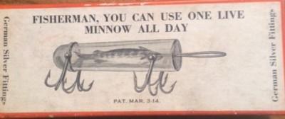 Detroit Minnow Tube Box Front