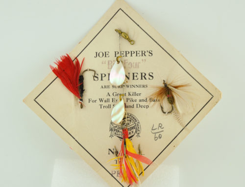 Joe Pepper Big Four Lure Card