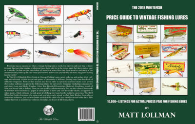 Whitefish Price Guide to Vintage Fishing Lures