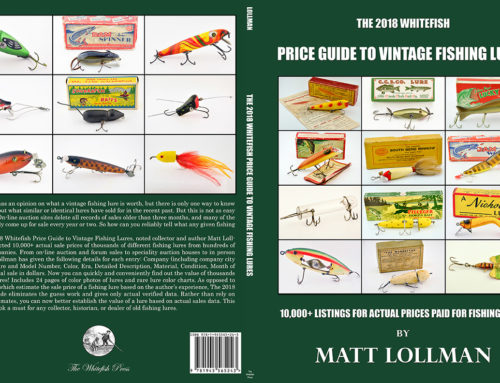 Whitefish Price Guide to Vintage Fishing Lures