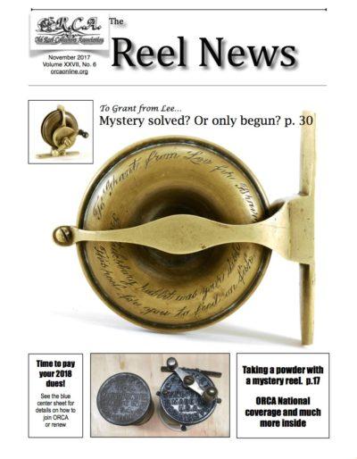 ORCA November 2017 REEL NEWS